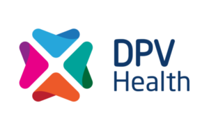 DPV Health Horizontal Logo on White Background