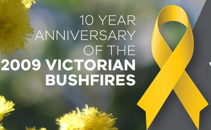 Counselling support for 2009 bushfires anniversary